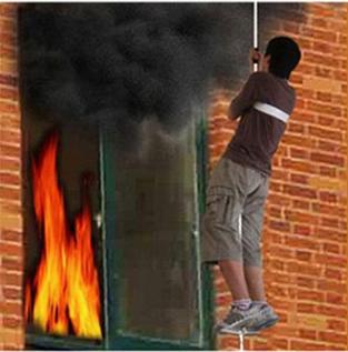 家庭消防应急求生绳逃生绳